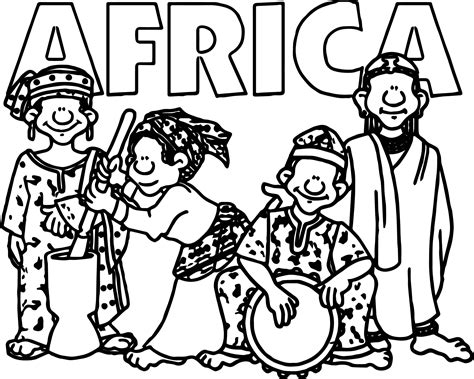 africa coloring pages welcome coloring page wecoloringpage