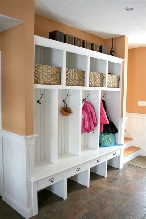 The Powerful Ideas Of Wooden Mudroom Locker Modern White Modern Mudroom Furniture