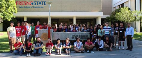 Csu Fresno Executive Mba by Lyles College Of Engineering