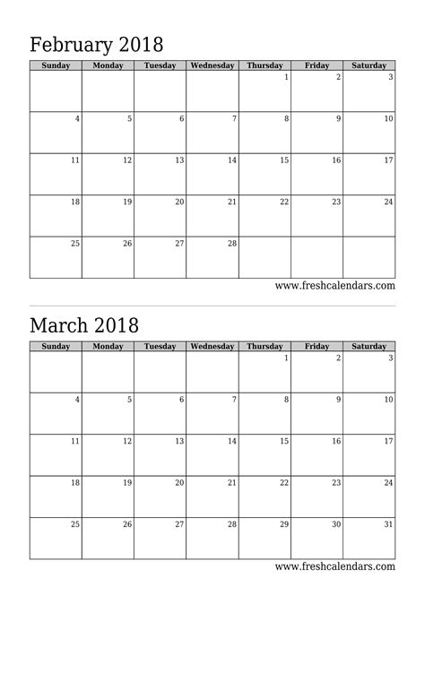 Free Resume Samples Online by Nice February Calendar Blank Photos Blank January 2018
