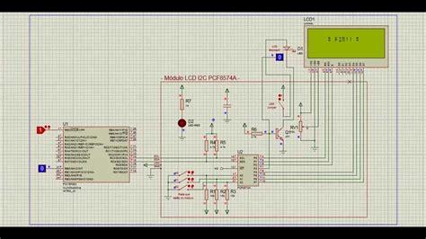 Tutorial Ccs C | lcd i2c pic ccs c pcf8574a proteus youtube