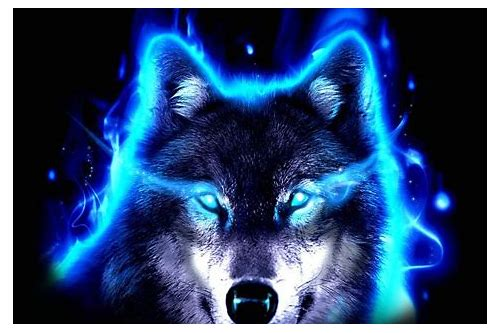 Neon Wolf Furry By Moonpur On Deviantart