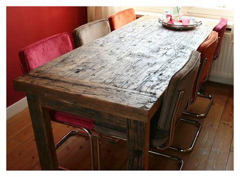 tafel oud maken www houtsmederij nl houten eettafel op maat