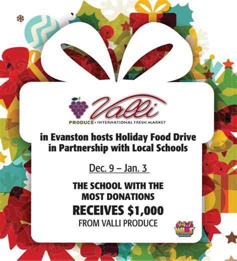 Evanston Food Pantry by Valli Produce Evanston Food Drive