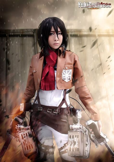 Raglan Attack On Titan 05 mikasa ackerman from attack on titan by