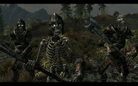 skyrim knight of skeleton armor mod armored skeletons and the walking dead traduzione
