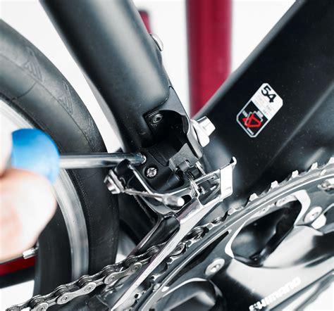 Front Derailleur front derailleur adjustment how to adjust bike gears in