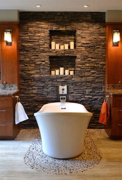 Beautiful Spa Bathrooms by 25 Amazing Accent Walls Spa Inspired Bathroom Spa