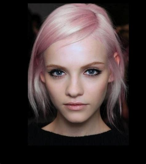 pink platinum blond streaks on short hair sweetest cotton candy pink hair colors best hair color