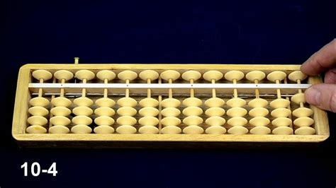how to use an abacus with 10 abacus tutorial 5 complementary numbers calculating up