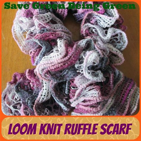 how to loom knit a scarf on loom loom knit ruffle scarves loomknitting knitting