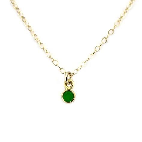 birthstone charm necklace the smith