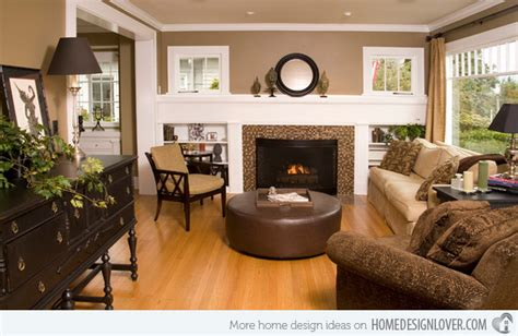 20 stunning earth toned living room designs decoration for house