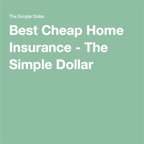 25 best ideas about cheap home insurance on