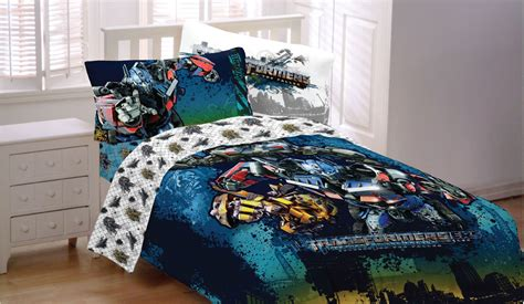 transformer comforter transformers motorized twin full comforter