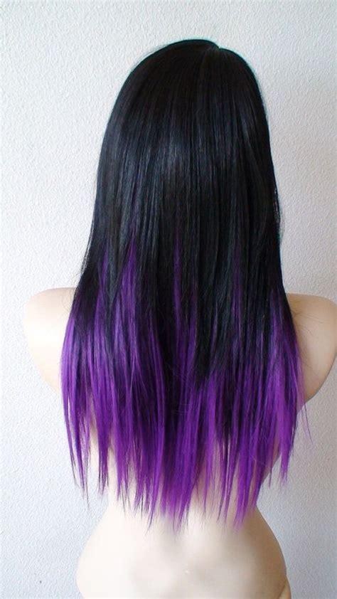 dye bottom hair tips still in style 25 best ideas about purple hair tips on pinterest