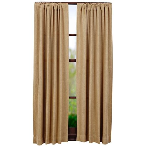 natural curtain panels burlap natural short curtain panels 63 quot x 36 quot