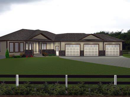 triple garage house plans treesranchcom