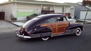 1947 chevrolet fleetline aerosedan country club woody