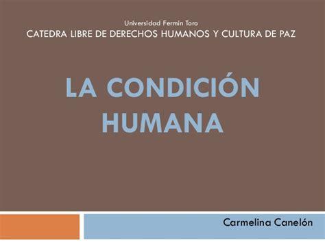 la condicion humana 8449318238 la condici 243 n humana