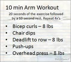 10 minute arm workout healthcom arm chest workouts on pinterest arm workouts upper