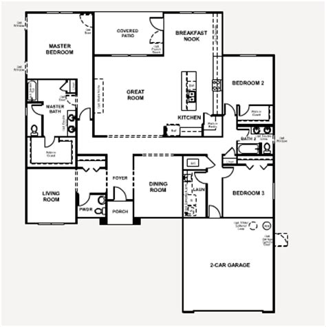 richmond american floor plans richmond american floor plans