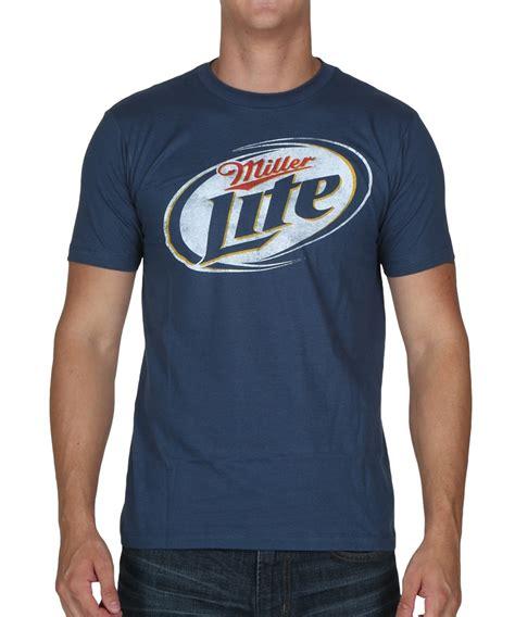 T Shirt Miller Lite miller lite logo t shirt