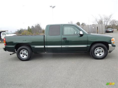 2001 gmc 1500 extended cab polo green metallic 2001 gmc 1500 sle extended cab