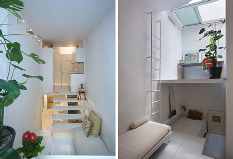 how to maximize studio apartment space micro apartment uses tiers to maximize tiny living space
