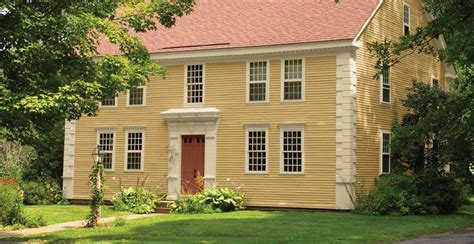 Sherwin Williams Vernici by Sherwin Williams Restrained Gold Exterior Paint Siding
