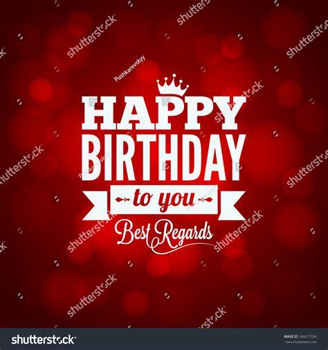happy birthday to you design happy birthday sign design background stock vector