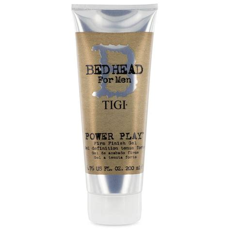 bed head gel tigi bed head for men power play firm gel bestellen online