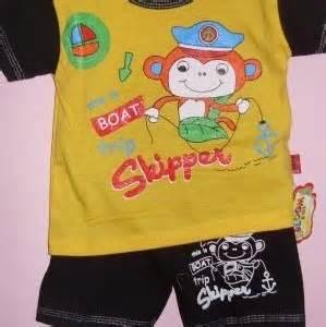 Setelan Minnie Mouse Kuning setelan bayi laki laki motif monyet baju bayi celana bayi