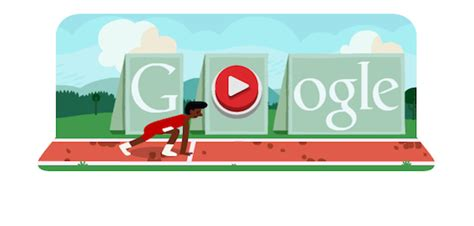 doodle how to play olympic hurdling record broken in 1 5 seconds on