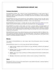 synopsis template sle business plan synopsis