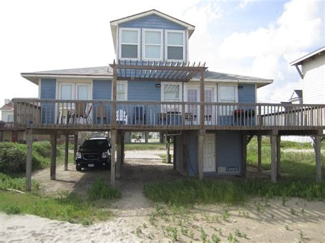 Galveston Cabins by Great Beachfront Home Sea Isle Galveston