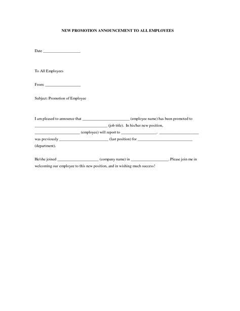 doc 7281031 doc460595 staff promotion announcement template promotion bizdoska