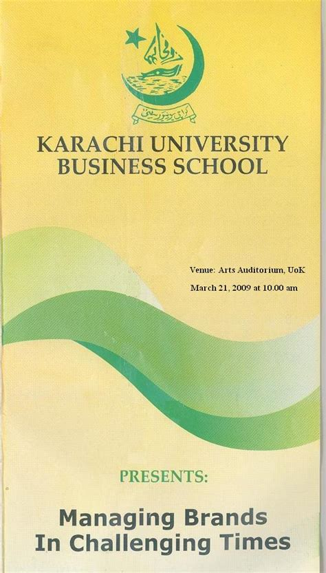 Mba Universities In Karachi by Uok News Archive March 09