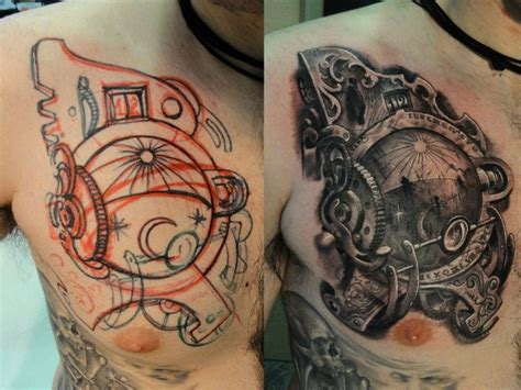 time machine tattoos pinterest