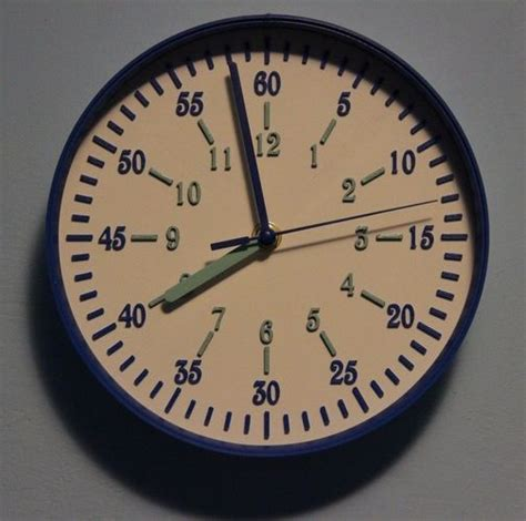 printable clock model 3d printable model easy clock cgtrader