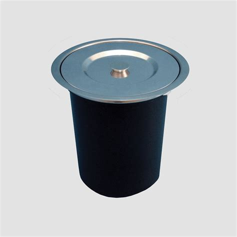 Kimberley Stainless Steel Kimberley Designer Hole In One Bench Top Bin