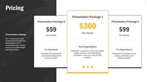 Download Free Powerpoint Templates And Presentation Designs Slidestore Tiered Pricing Template