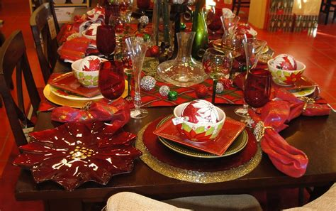 pier xmas party dining table christmas dining table decorations
