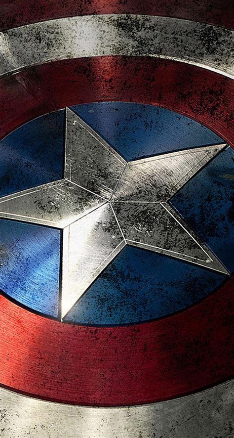 captain america lock screen wallpaper download captain america shield 744 x 1392 parallax
