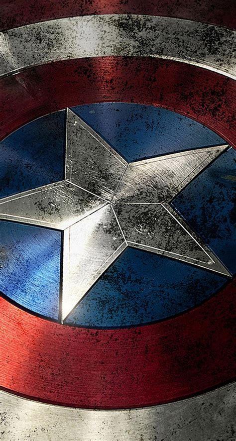 Download Captain America Shield 744 x 1392 Parallax