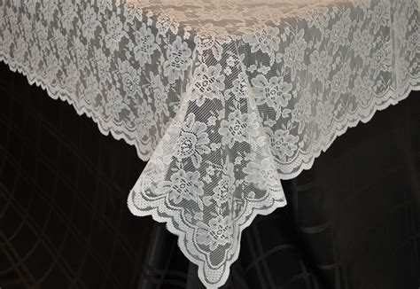 lace table overlays toppers rectangle wedding