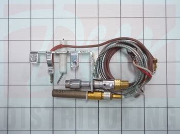 r3624 empire fireplace gas pilot with thermopile
