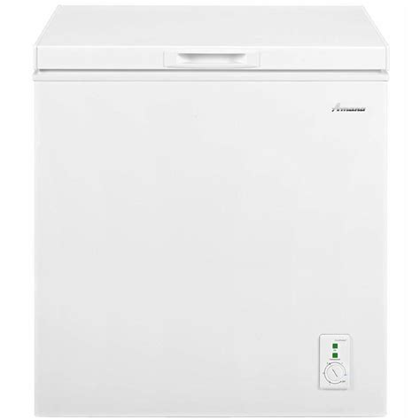 amana 5 3 cu ft chest freezer in white aqc0501drw the