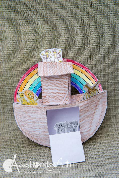 bible crafts for best photos of 3d of noah s ark craft papercraft
