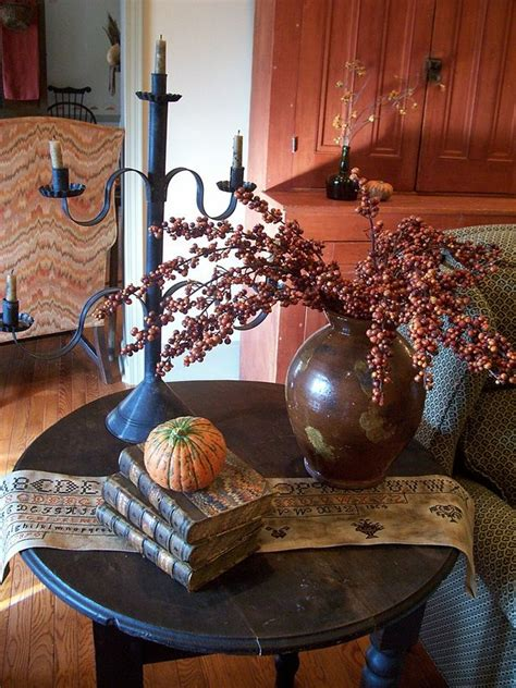 pinterest colonial primitive decorating some fall decor theprimitivestitcher www picturetrail theprimitivestitcher my home on